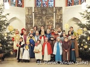 Sternsinger in Kirche2016.2